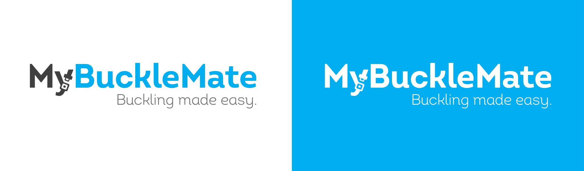 examples of MyBuckleMate logo design