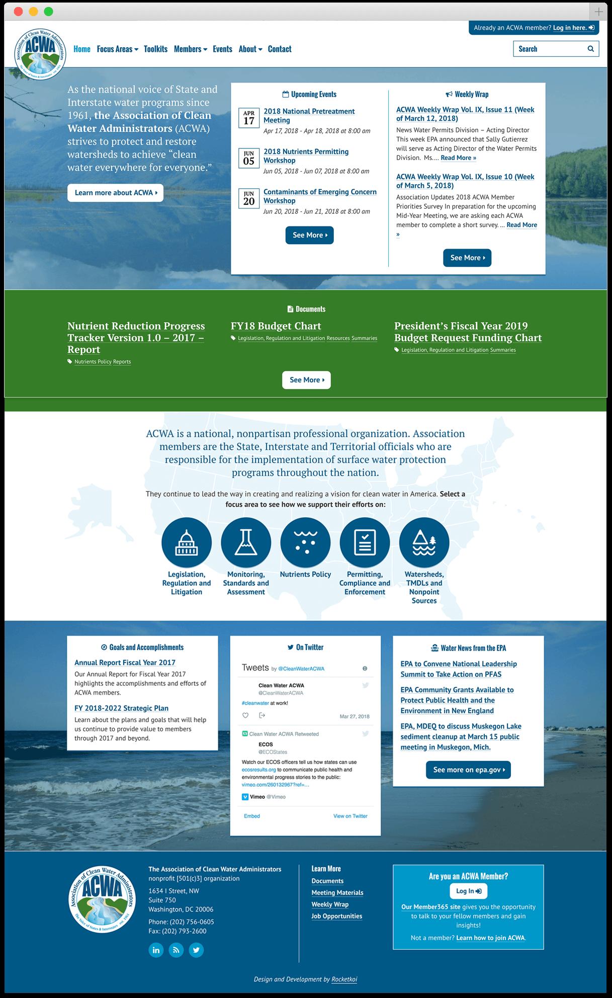 acwa-us.org homepage
